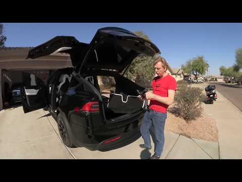 T&T Tesla Trip USA Teil 1 Model X Christmas Show