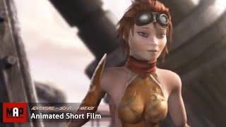 Sci-Fi Cyberpunk CGI 3D Animated Short Film ** GOLIATH ** Steampunk Adventure by ArtFX Team