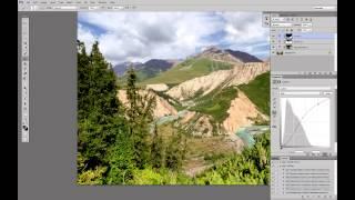 Обработка пейзажа. Часть 4. Повышение контраста