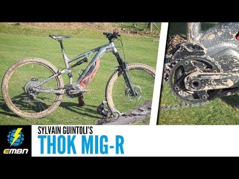Sylvain Guintoli's MIG-R E Mountain Bike | EMBN Bike Check
