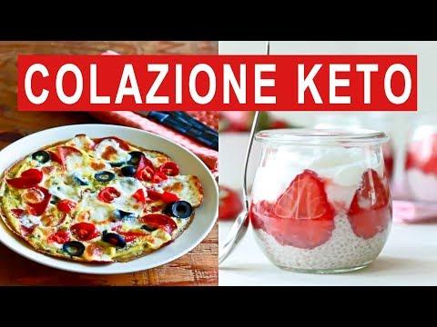 COLAZIONE CHETOGENICA - 3 RICETTE PER LA COLAZIONE - DIETA CHETOGENICA
