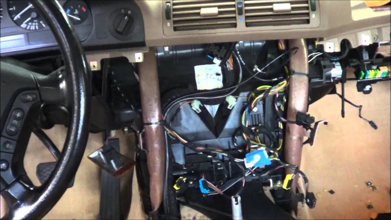 11 2 13 Heater Core Mess 97 Bmw 5 Series Youtube