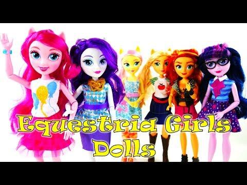 New MLP Equestria Girls Fashion Dolls 2017 Pinkie Pie and Rarity