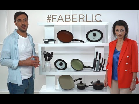 Регина Оленина и итальянский шеф-повар Джованни Филиппоне представили новую посуду Faberlic Home