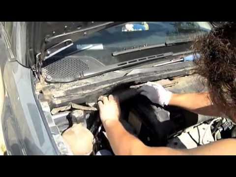 Cambiar filtro habitáculo coche Citroen C4 - YouTube