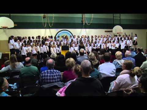 Stratford Landing Elementary school Chorus concert
