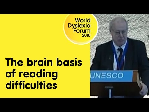 WDF – The brain basis of reading difficulties