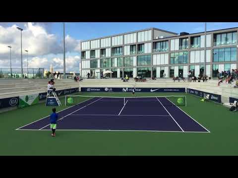 Fadi Bidan against James from Netherlands Rafa Nadal academy tournament - PART 2