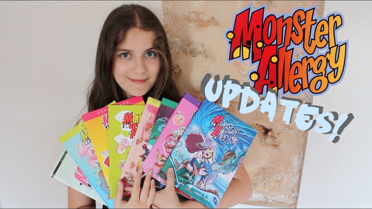 Monster Allergy: updates, merch and & more!