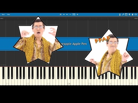 PPAP (Pen Pineapple Apple Pen) - Synthesia MIDI/Karaoke