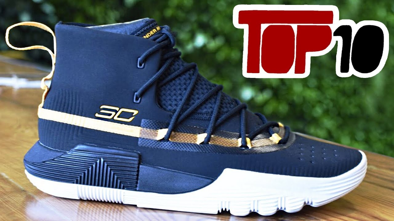 0087078232a Top 10 High Top Basketball Shoes Of 2018 - YouTube