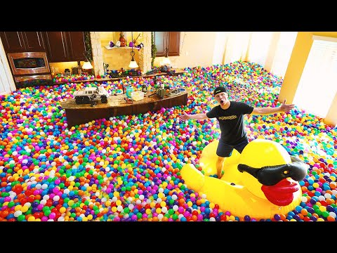 Carmine - Dude Fills His Entire House With Plastic Balls