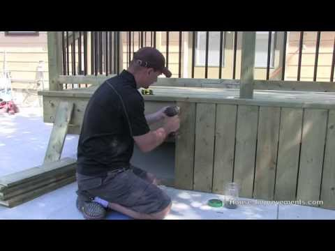 How To Build A Deck | #5 Skirting