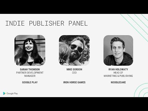 Indie publisher panel (Indie Developer Day, Seattle 2018)
