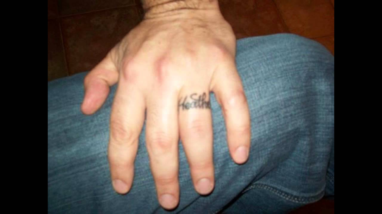 wedding ring finger tattoos youtube - Wedding Ring Finger Tattoos
