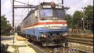 Amtrak Northeast Corridor Run-bys: 2001-2002