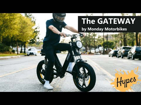 The Gateway by Monday Motorbikes is the Best Moped Style Ebike!