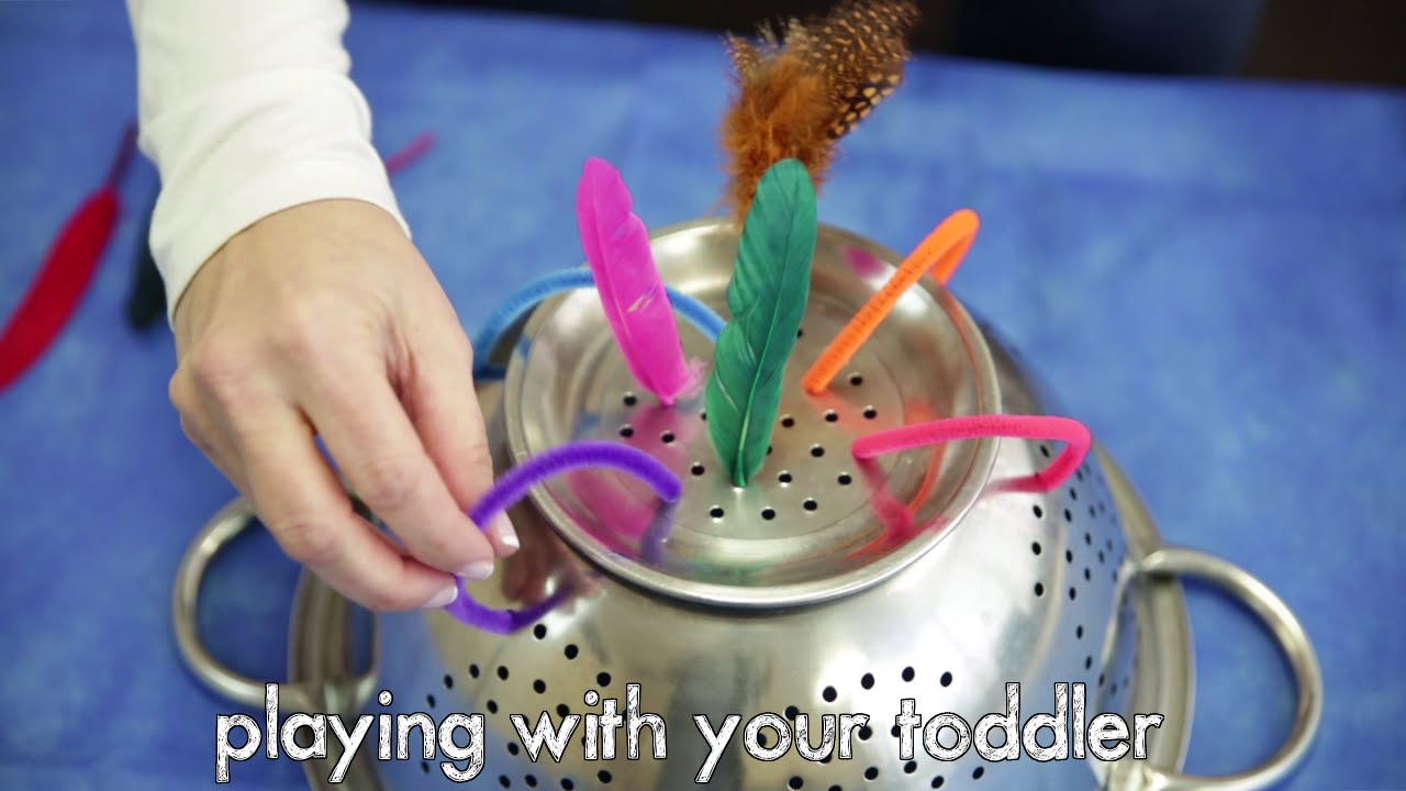 Playing With Your Toddler At Home Activities Youtube