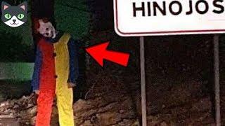Top 5 Bromas de Payasos Asesinos Que Salen Mal | Payasos Perturbadores Captados En Cámara thumbnail