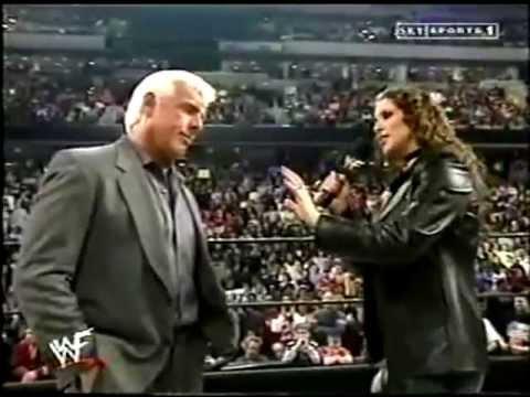 Ric Flair & Stephanie McMahon segment thumbnail