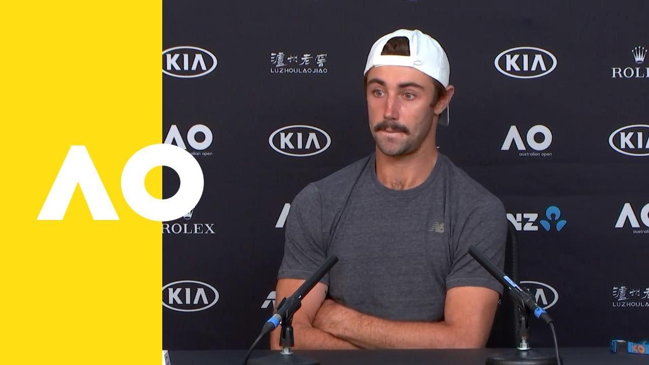 Jordan Thompson press conference (2R) | Australian Open ...