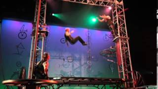 Cirque Mechanics Gantry Trampoline