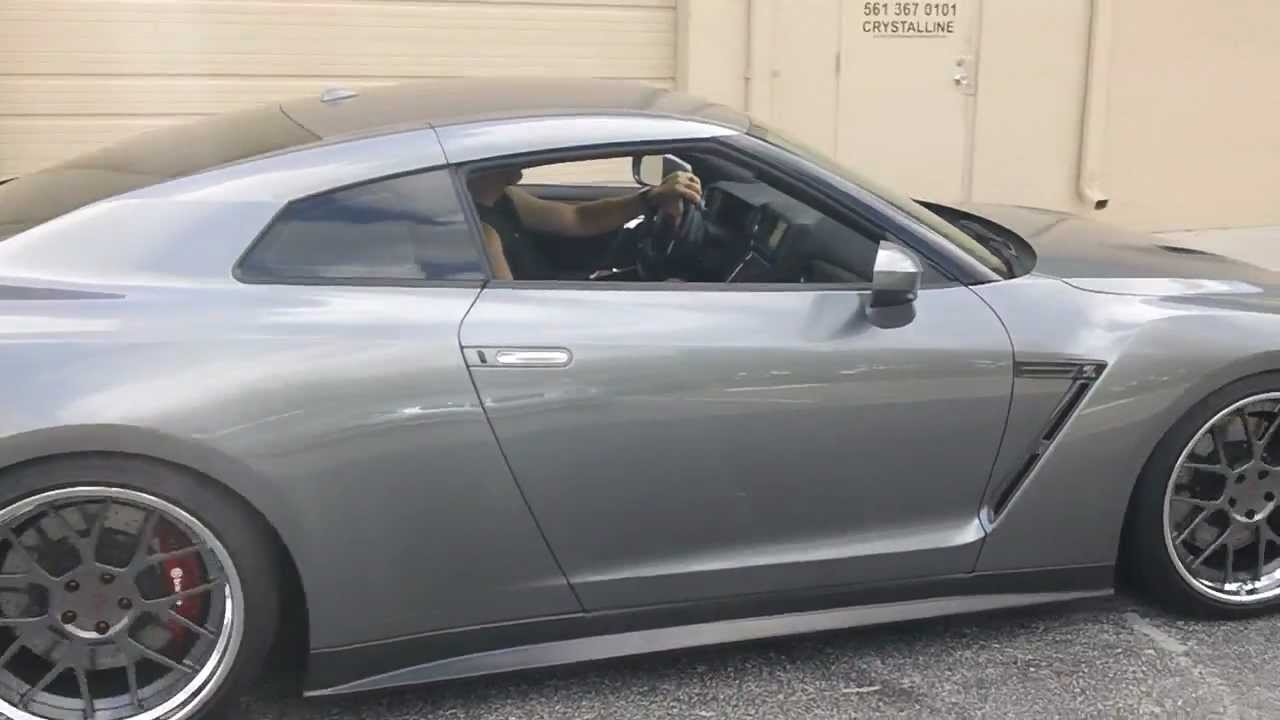 Sweetest Nissan GTR In South Florida   Auto SuperShield Car Of The Week    YouTube