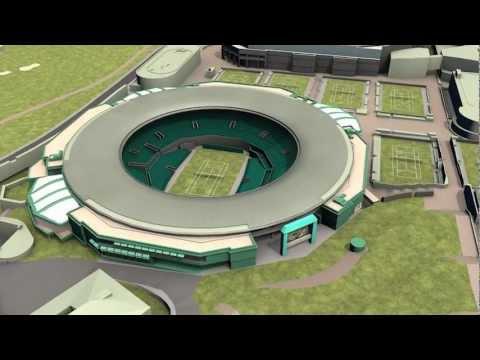 All England Lawn Tennis Club - Wimbledon 3D model
