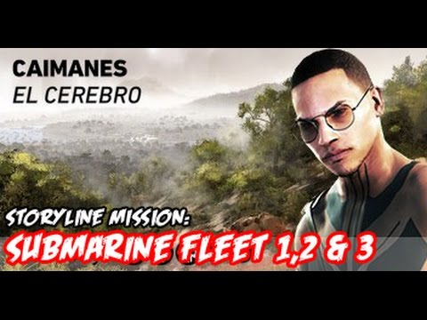 Ghost Recon Wildlands - Submarine Fleet 1, 2 & 3 - Caimanes - Gameplay Missions Gaming