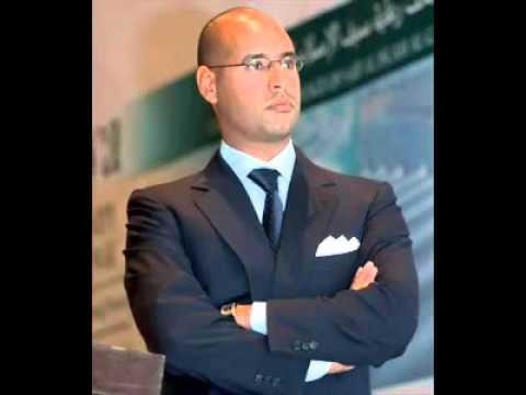 Saiful islam gaddafi son