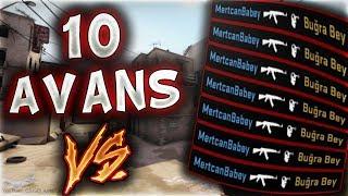 Mertcan'a 10 Avans Vererek Vs Attik !! Kazan Artik(cs:go)