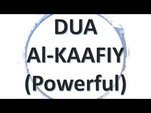 Wazifa - Dua Al Kaafiy (Remove Difficulties, Overcome Enemies, Meet