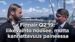 Finnair Q2'19: liikevaihto nousee, mutta kannattavuus paineessa