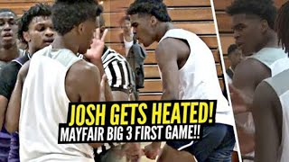 Josh Christopher GETS HEATED in Mayfair's FIRST Game w/ Dior & Tezz!! Don't Make Josh MAD!!