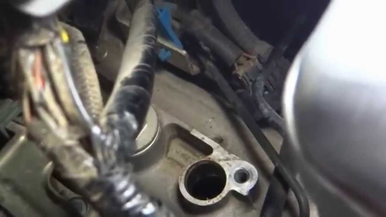 Speed Sensor Replacment Fix Transmission Shifting Problems  YouTube