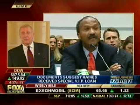 Rep. Dan Burton Discusses Franklin Raines VIP Countrywide Loan Testimony