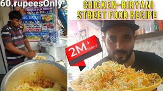 How to make Chicken Biryani   Chicken Biryani Street food Recipe   Food Vlog with Mohsin