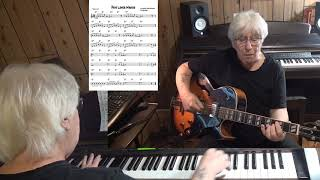 Papa Loves Mambo - Jazz guitar & piano cover ( Al Hoffman, Dick Manning, Bix Reichner )