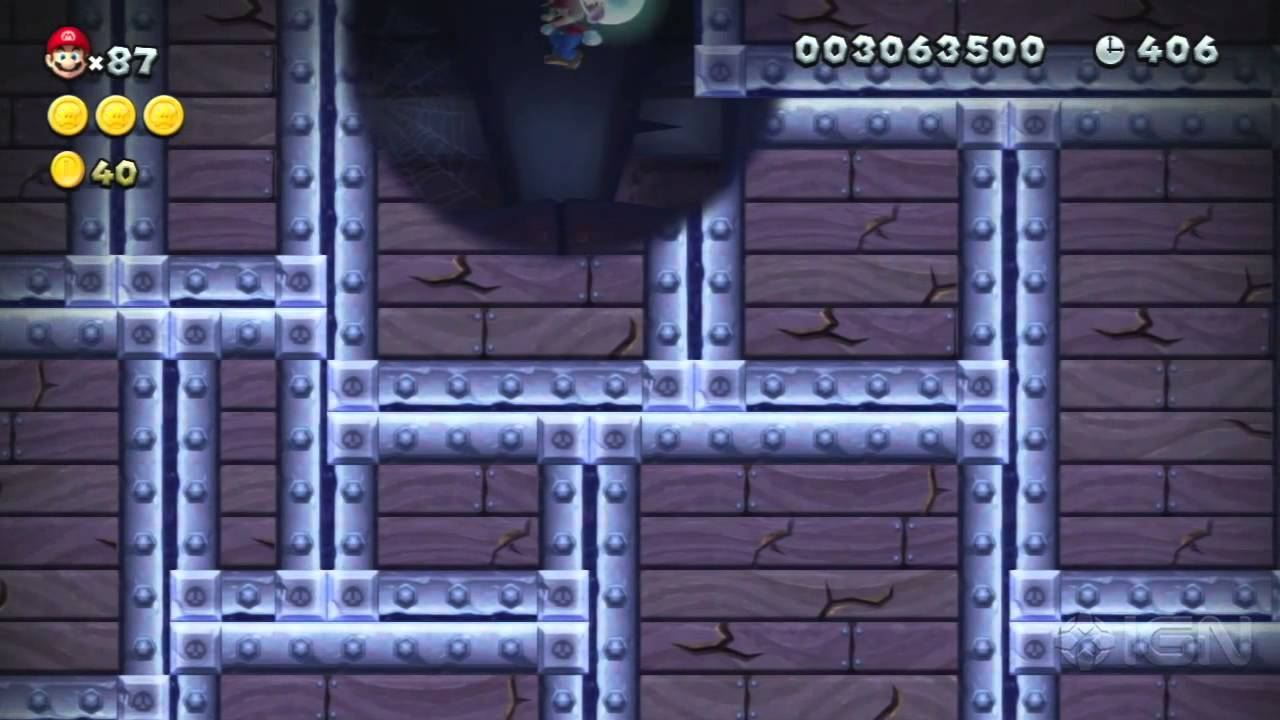new super mario bros u secret exits