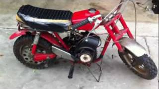 RUPP Mini Dirt Bike Piston Sleeve Fail