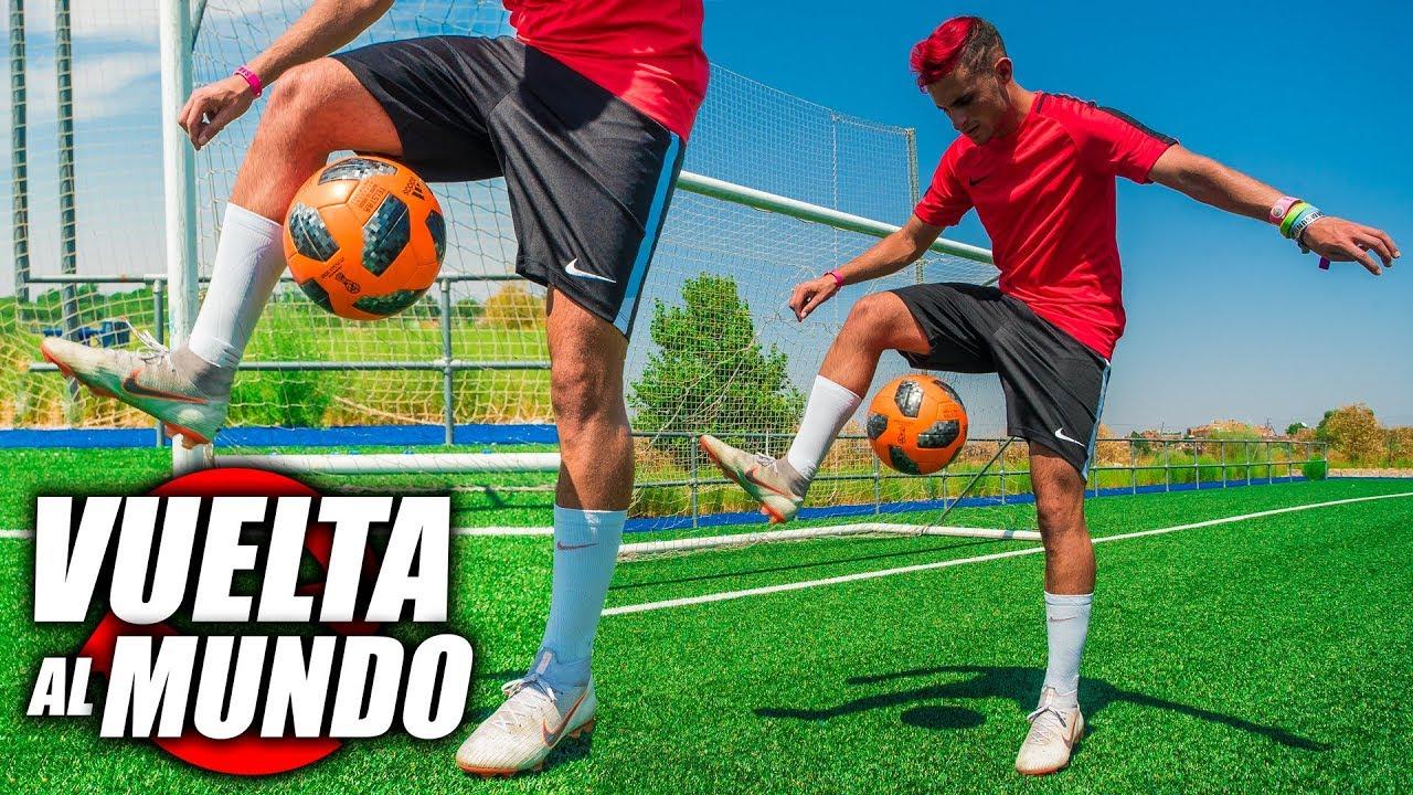 Aprende A Hacer La Vuelta Al Mundo En 3 Sencillos Pasos Trucos De Fútbol Atw Tutorial