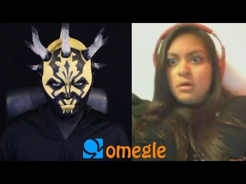 Savage Opress goes on Omegle! (Hornier Yellower Darth Maul)