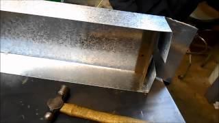Fabrication a Sheet Metal-Catch Pan