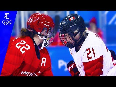 Ice Hockey | Canada v OAR Semi-Final Highlights | Pyeongchang 2018 | Eurosport