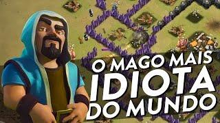 O MAGO MAIS IDIOTA DO MUNDO - A NY PASSOU MAL - CLASH OF CLANS - CLÃ APOCALIPSE