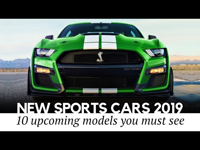 10 All-New Sports Cars to Be Excited About in 2019-2020