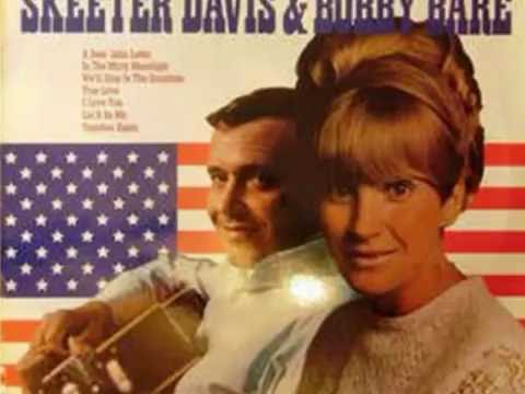 In The Misty Moonlight by Bobby Bare and Skeeter Davis