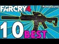 Top 10 Best Guns and Weapons to Carry for your Far Cry 4 Loadouts #PumaCounts