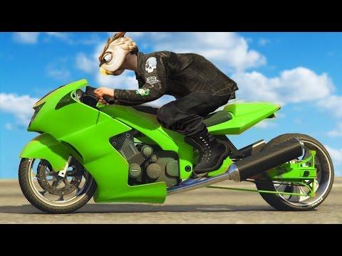 $4,000,000 YENİ MOTOR (GTA 5 Online Bikers DLC)