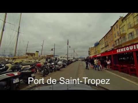 Saint-Tropez, Côte d'Azur, Provence Alps by car - FULL HD - 2016-03 - AMG A45